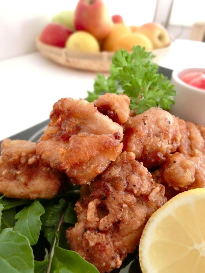 Japanese Crispy Fried Chicken – Marinated in Shio-Koji !!