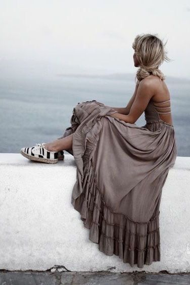 Endless Summer Backless Maxi Mocha by SimplyOverdoneStyles on Etsy