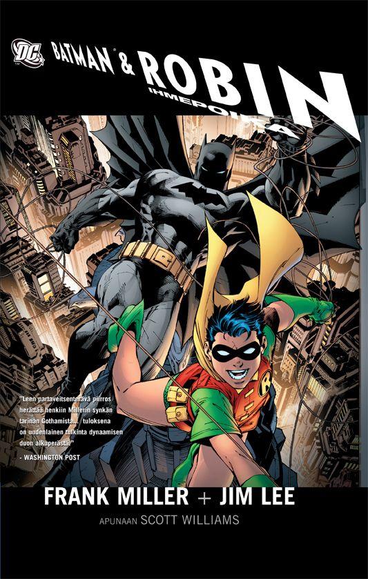 Batman & Ihmepoika Robin. #egmont #sarjakuva #sarjis