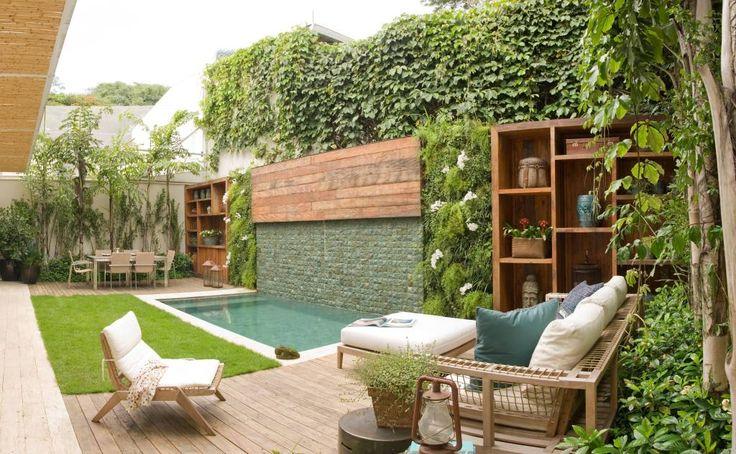 Parcourez les images de %{space_category } de style  % de Gigi Botelho Paisagismo. Inspirez-vous des plus belles photos pour créer votre maison de rêve.