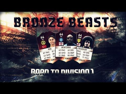 FUT 17 Bronze Beasts EP1 Introd(estr)uction