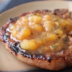 Tropical Grilled Pork Chops - Allrecipes.com Tropical Grilled, Pork ...