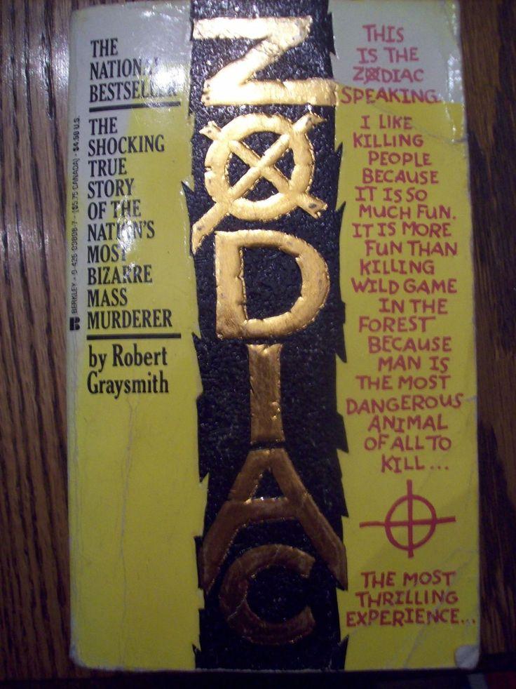 Vintage paperback book murder mystery ZODIAC by Robert Graysmith  1987 ed