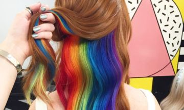 Hidden Rainbow Hair: The Latest Trend From London's 'Not Another Salon' | Huffington Post