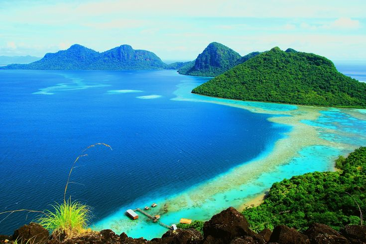 Pulau Bohey Dulang kepulauan yang tercantik dunia di Semporna, Sabah - Sabahup2date