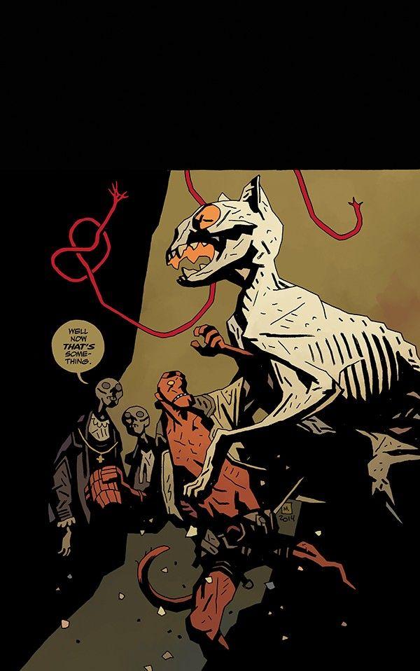 Mike Mignola, Hellboy in Hell 8