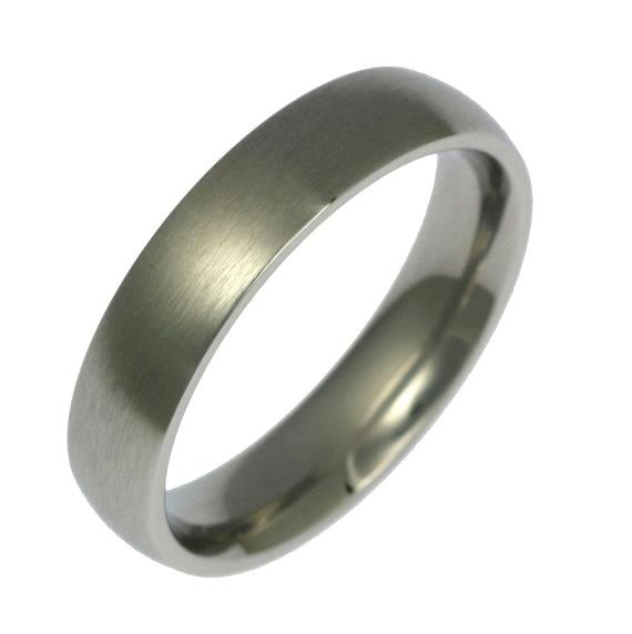 Stunning 5mm Brushed Stainless Steel Mens Comfort Fit Wedding Band Ring, Mens Wedding Rings, Brushed Stainless Steel Mens Ring, John S Brana by johnsbrana https://www.etsy.com/listing/479417416/5mm-brushed-stainless-steel-mens-comfort?ref=rss