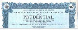 """Przedwojenne interesy Prudential w Polsce.  Prudential plc- jedna z wiodących instytucji finansowych Wielkiej Brytanii - zawierał w Polsce przed II Wojną Światową polisy ubezpieczeniowe na życie poprzez spółkę Prudential Assurance Company Limited oraz jej spółkę zależną """"Przezorność"""" (już nieistniejącą), w której Prudential Assurance uzyskał pakiet kontrolny w roku 1927."""