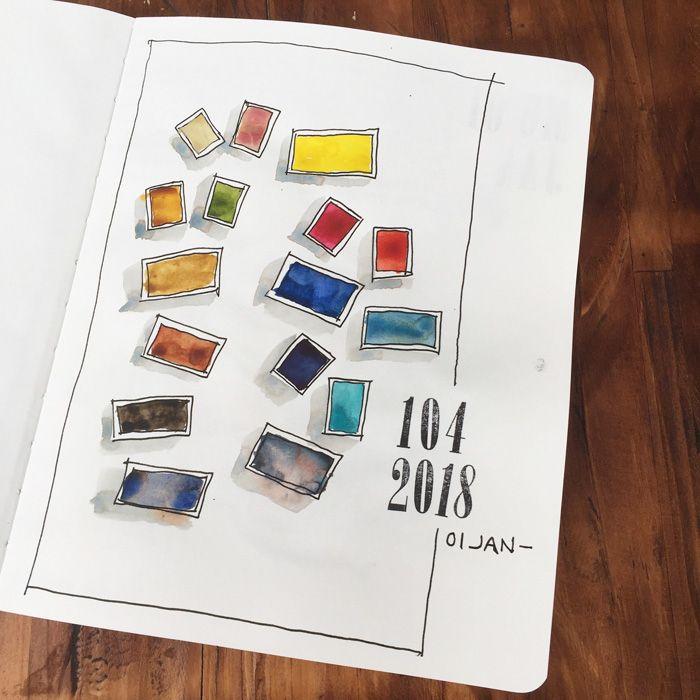 First Page Of My Sketchbook Sketch Book Artist Sketchbook