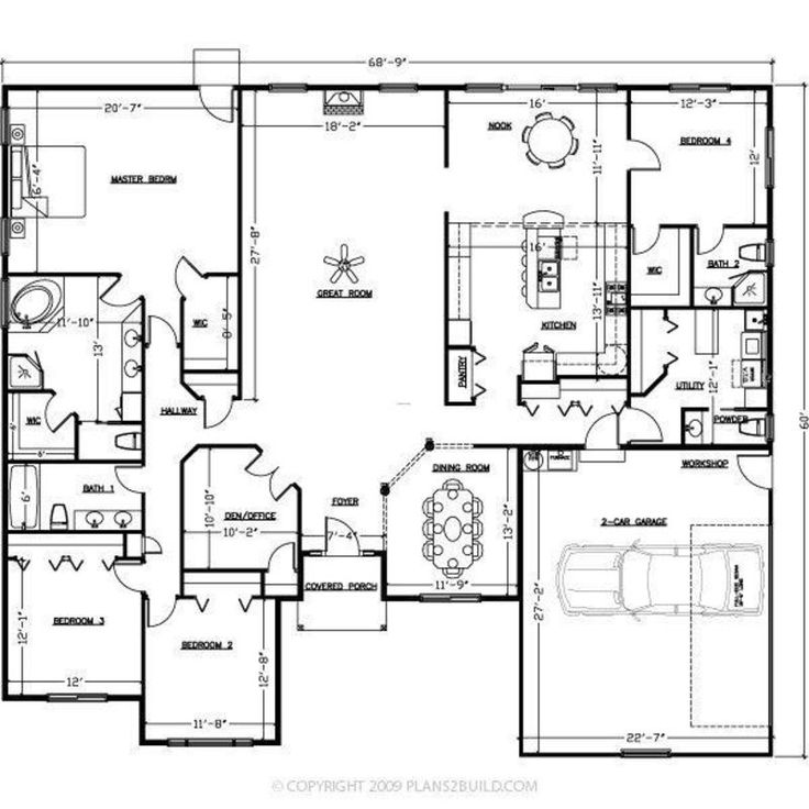The 25 Best Ideas About Courtyard House Plans On