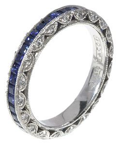 Someday...this was my dream wedding band but now it is my dream anniversary band lol!