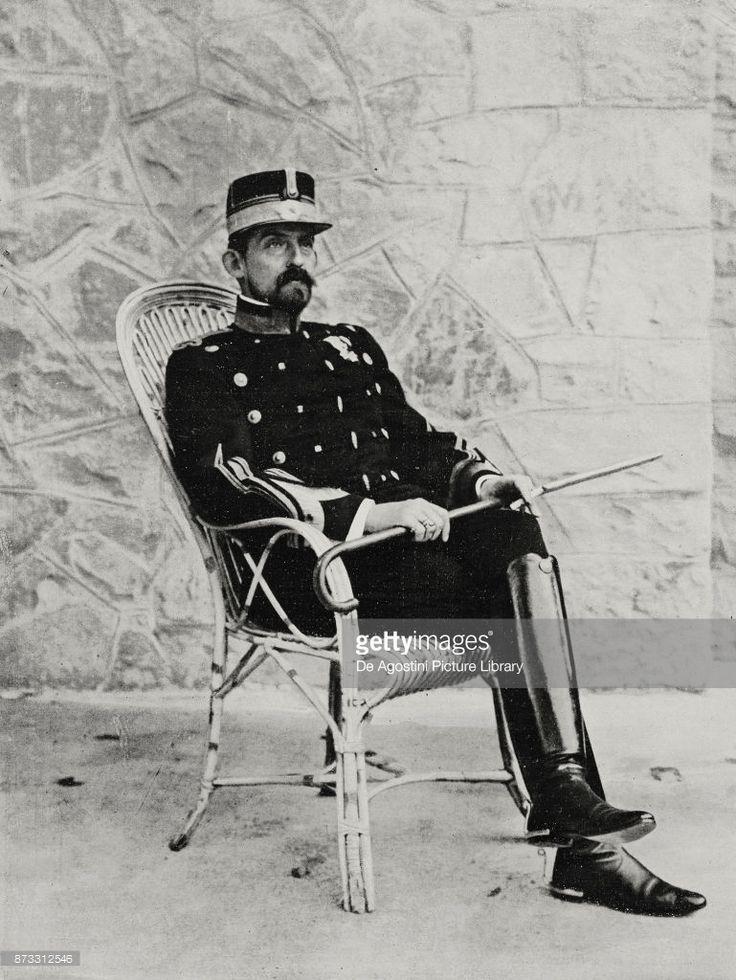 Portrait of Ferdinand I of Romania (1865-1927), King of Romania, photo by Chusseau-Flaviens from L'Illustrazione Italiana, Year XLIII, No 36, September 3, 1916.