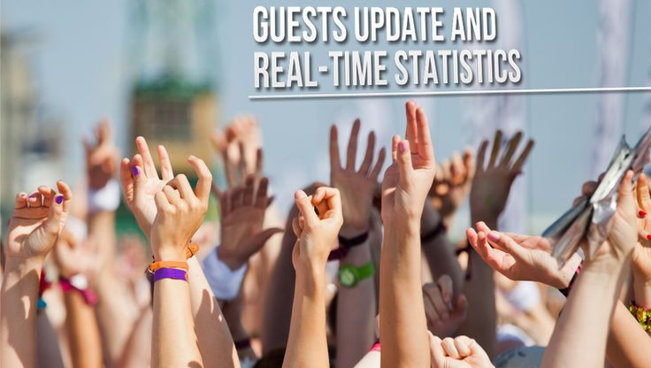 Real-Time Guests updates