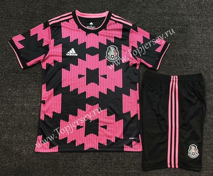 2020-2021 Mexico Home Pink   Soccer uniforms, Sports jersey design ...