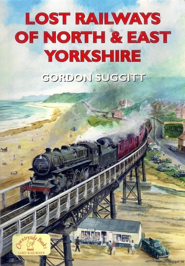 LOST RAILWAYS of NORTH & EAST YORKSHIRE. Of 900 miles of rail track & 300 stations that existed in the golden years of the railway, fewer than 390 miles and 80 stations remain as part of today's national network. This book brings to life the history of the area's railways - the reason for their construction and for their closure.