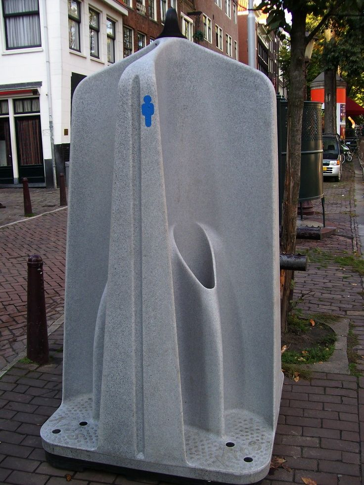 Public Toilet In Amsterdam City Life Public Toilets Amp Fountains Toilet Design Restroom