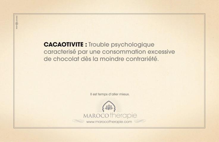 Office National Marocain du Tourisme - Marocothérapie - CACAOTIVITE