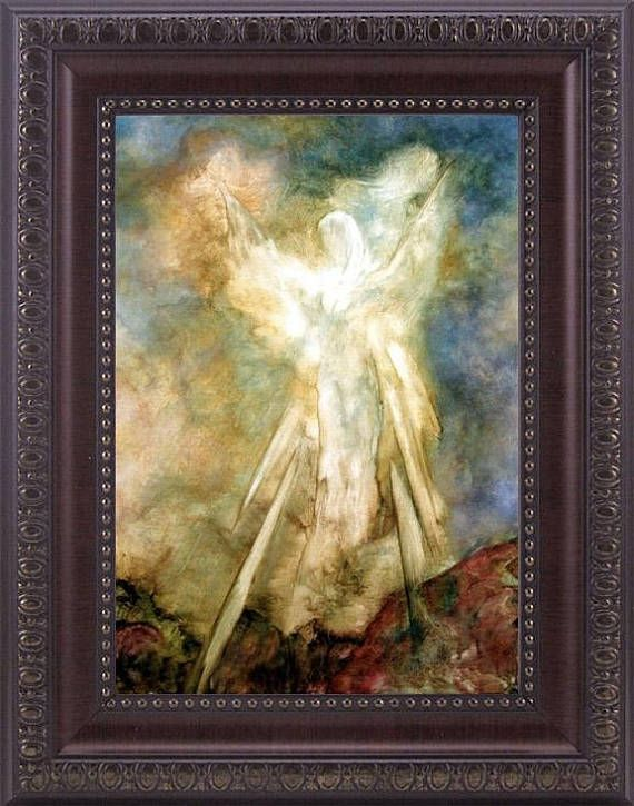 Home Art Wall Decor Angel Beauty Wings Oil Painting Picture Printed On Canvas