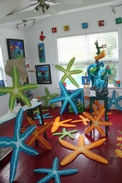 Starfish!!! So many, so beautiful, so HUGE! - From The Grumpy Goat Gallery
