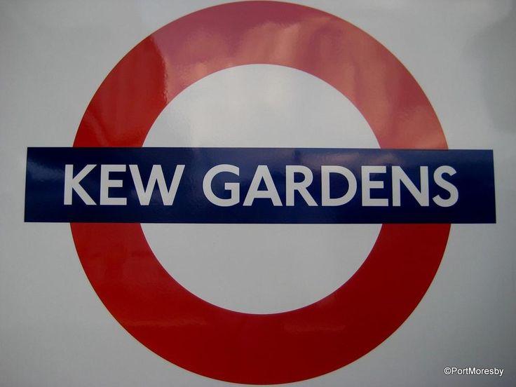 England's Thames Path: Kew Gardens