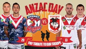 Roosters v Dragons tickets, tour and event information - Ticketek Australia