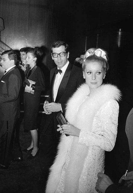 Roger Vadim and Catherine Deneuve Sweden August 1963 by Famous Fashionistas via Flickr