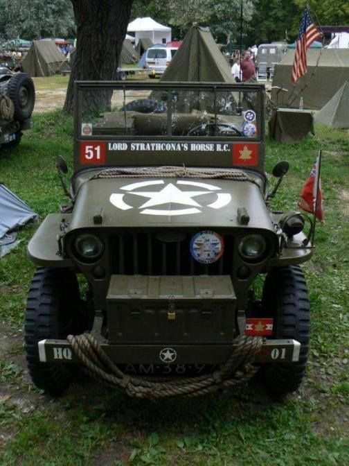 Willys MB Truck,  Qtr Ton