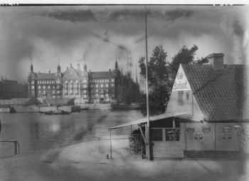 Langebro. Café Bomhuset kbhbilleder.dk