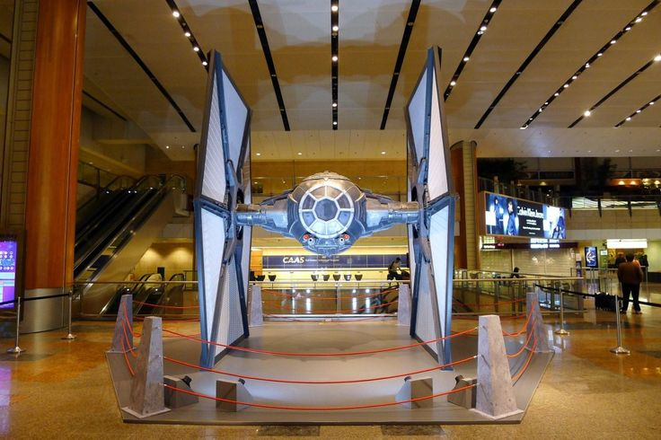 #starwars #singapore #blog #travel #changi #airport