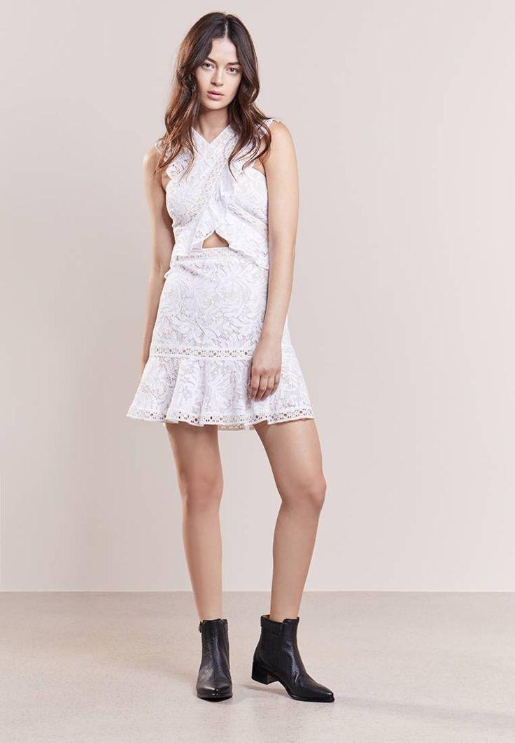 BCBGMAXAZRIA. Cocktailkleid / festliches Kleid - off white ...