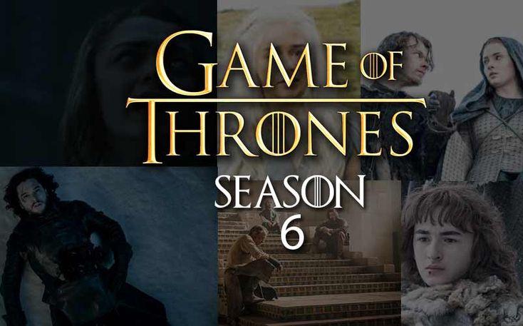#GameofThrones #GOT #Season6