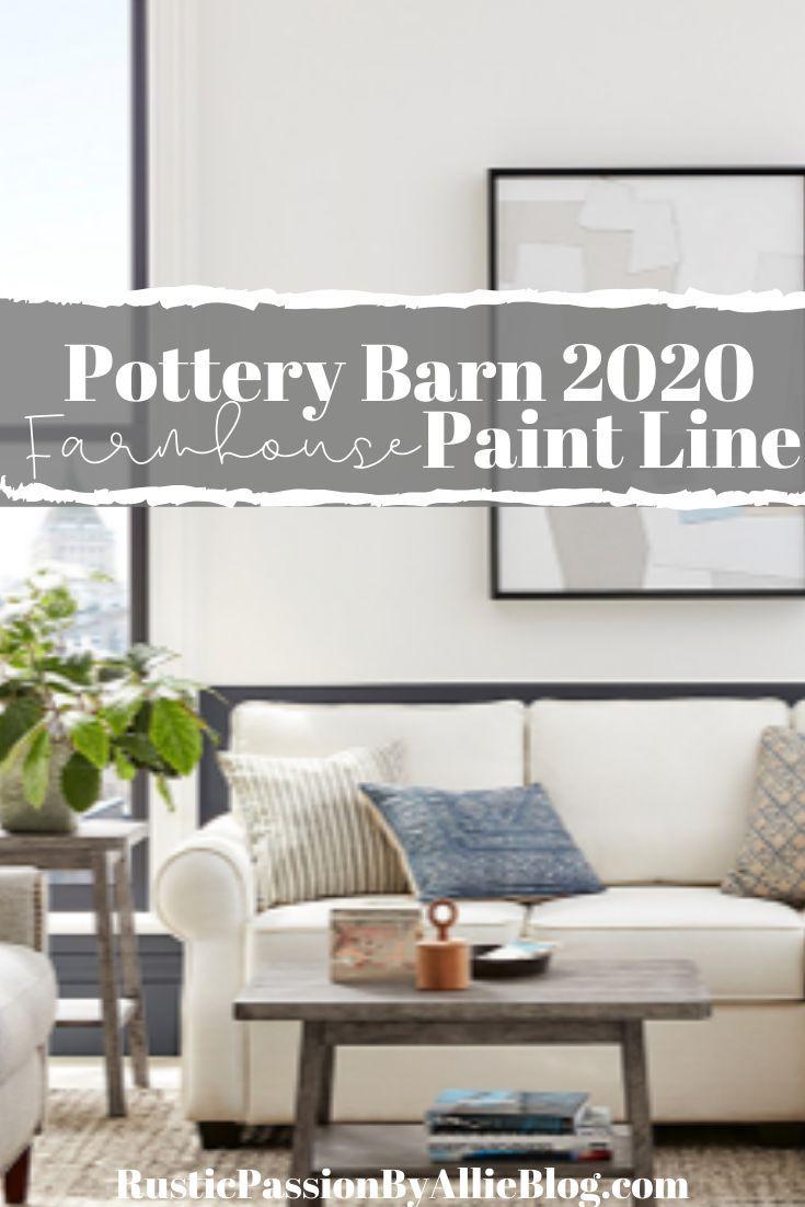 Pottery Barn Sherwin Williams Farmhouse Neutral Paint