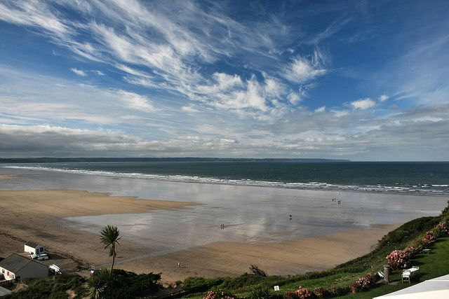 A View From The Saunton Sands Hotel