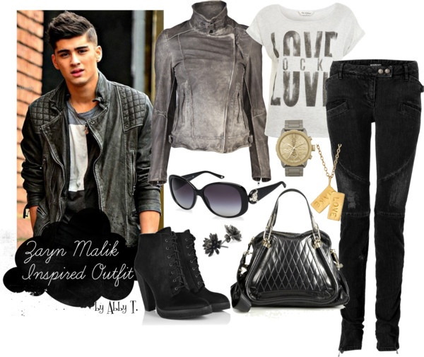 Zayn Malik Inspired Outfit Created By Abbytamase On Polyvore Get The Look Pinterest Zayn