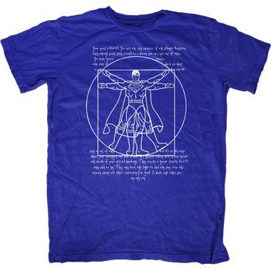 Vitruvian Superman T-Shirt http://www.fat-tee.com/humor-t-shirts/mens-humor-t-shirts/vitruvian-superman-t-shirt/
