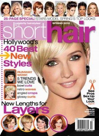 84 best Hair Magazine images on Pinterest | Hair magazine, Short ...