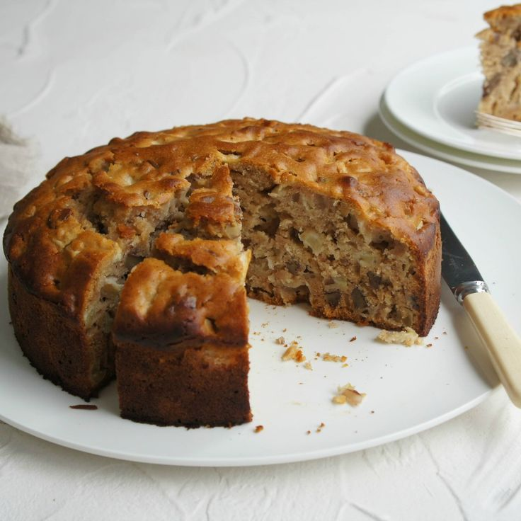 #RecipeoftheDay: Healthy Apple Cake by abrarose