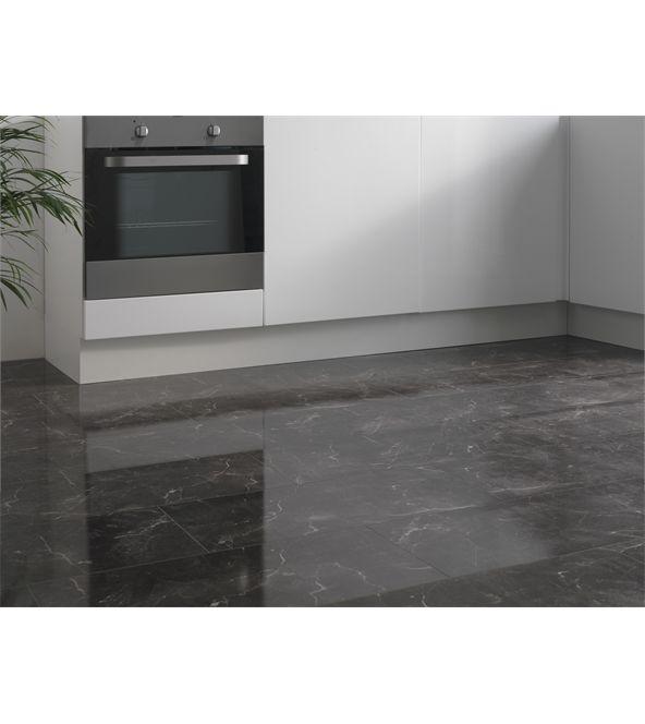 Westco 8mm Bottocino Black High Gloss Tile Effect Laminate Flooring Part 80