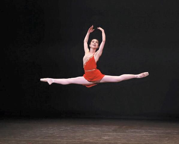 """Photo by Bari Lee of SVB's Junna Ige in """"Diana and Acteon"""" PDD"""