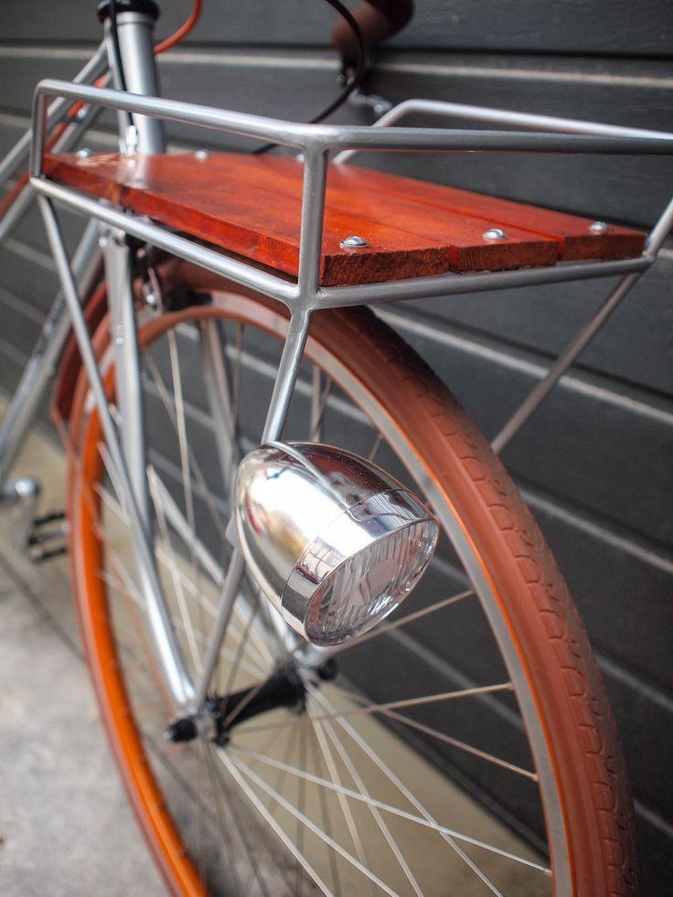Nescafe Racer porteur city bike concept detail - Atelier Onest - Bucharest, RO