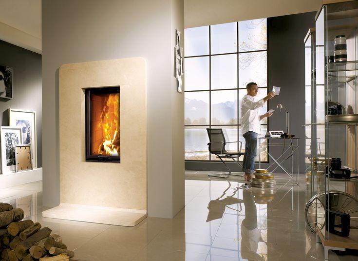 Hergom - Estufas, hogares y chimeneas de hierro fundido para leña y gas. Europa América - Lina