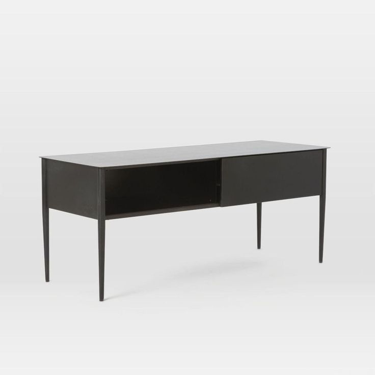 Metalwork Media Console - Hot Rolled Steel Finish