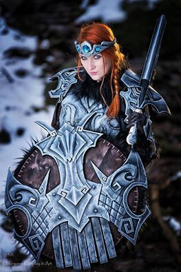 Cosplayer: Margaret Cosplay & artrt Character: Nordic woman (Nordic Carved Armor) From: Skyrim Photographer: MLC Foto Country: Poland