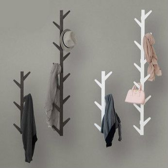 estilo europeo de madera maciza dormitorio de vida creativo decorativo de pared perchero perchero abrigo gancho