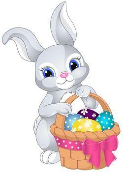 Easter Bunny 48 Pieces Easter Bunny Cartoon Easter