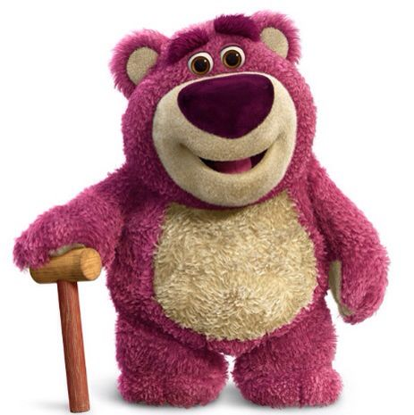 Toy Story 3; Lotso Huggin' Bear the villain in the movie