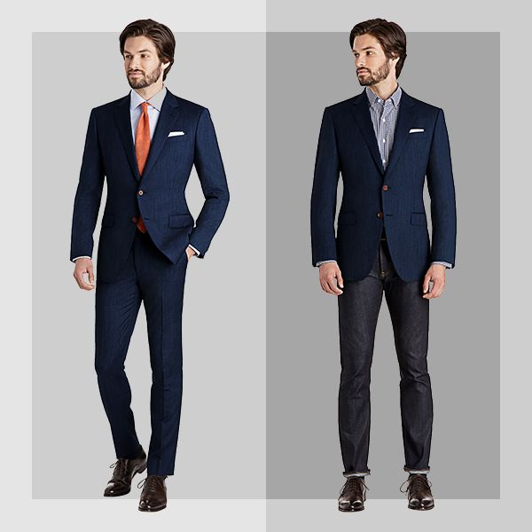 Business casual dress code is the norm. Here are some simple tips to business casual-ize your suits to make the most out of your wardrobe.