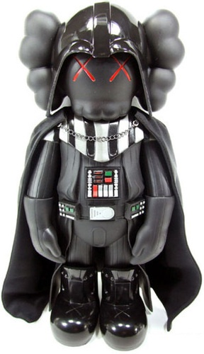 'Darth Vader Companion' by Kaws & Original Fake. #grail #someday