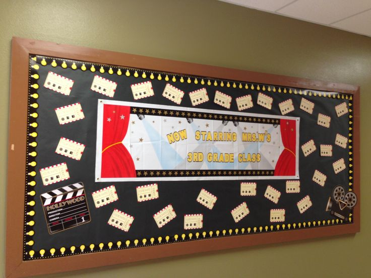 Welcome back to school bulletin board black and red theme for Black bulletin board ideas