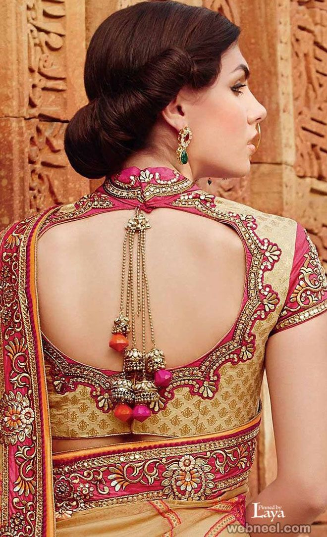Nice Blouse Back Designs 97